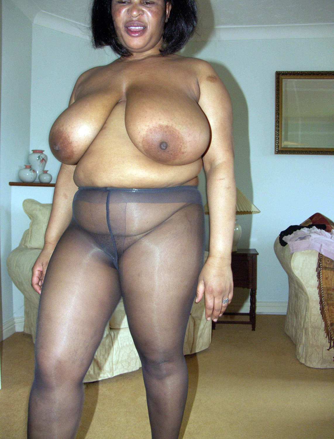 Nude mom ebony black