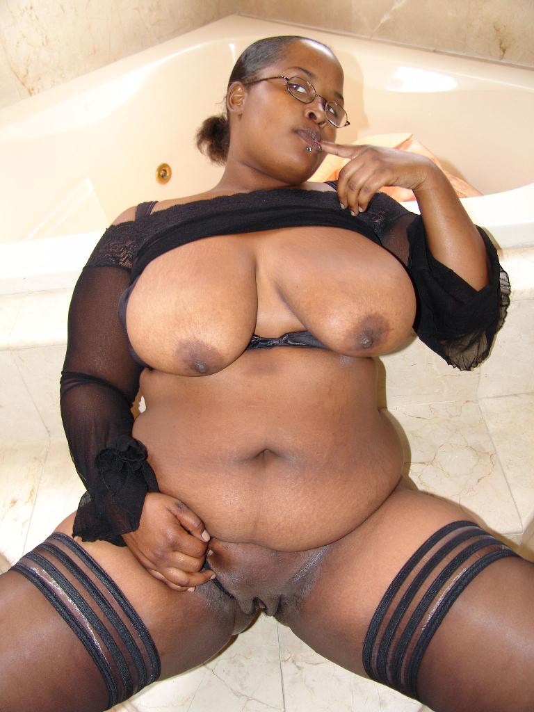 Ebony Woman White Guy Amateur