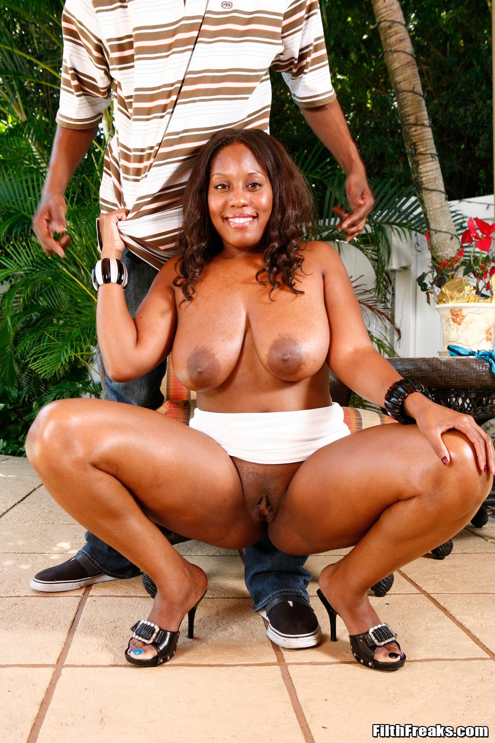 stretch sasha ebony milf