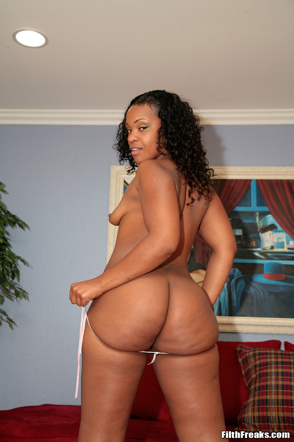 Big Booty Ebony Mom Son
