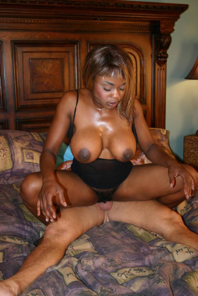 Ebony Mature Creamy Pussy