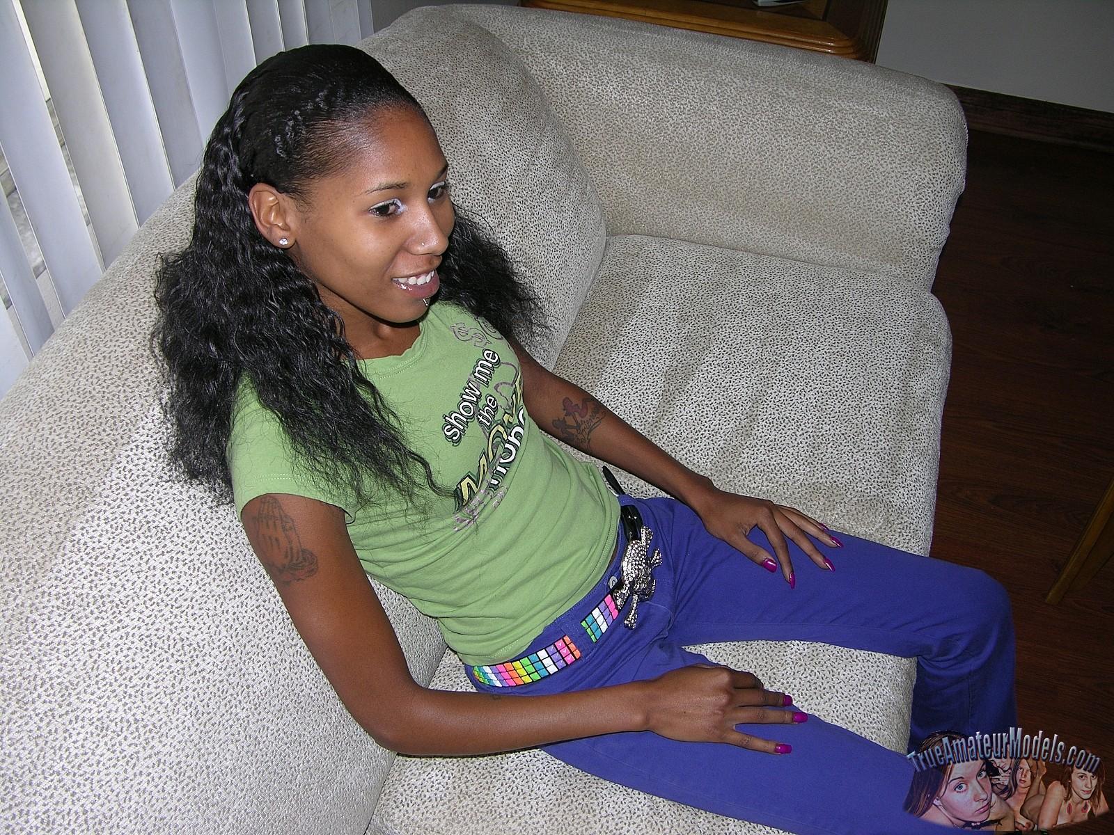 Amateur Teen Ebony Fucked Hard